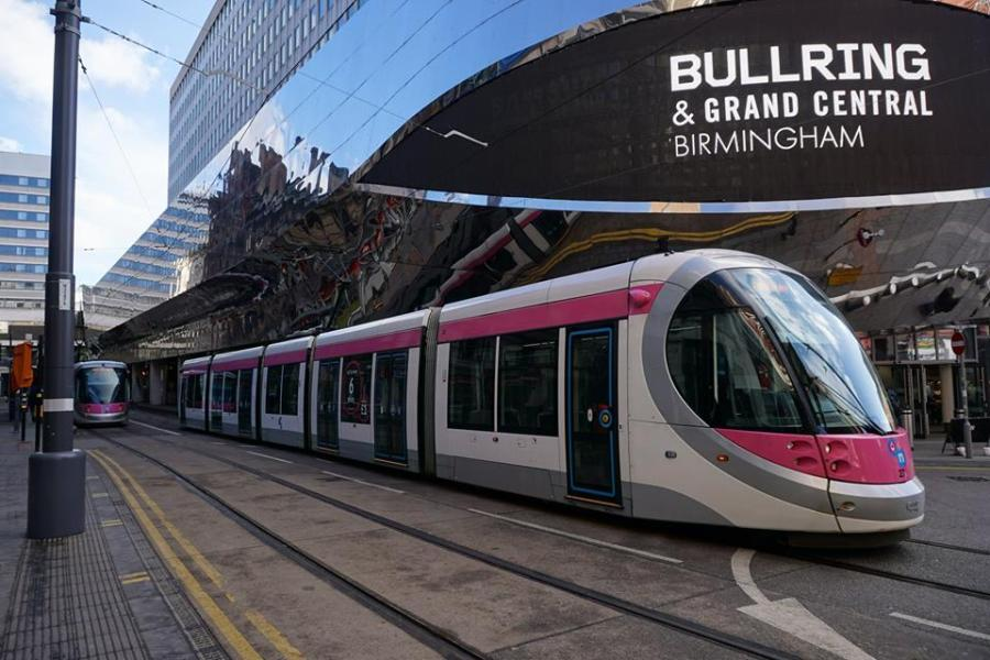 Tram - Three reasons to visit Birmingham now