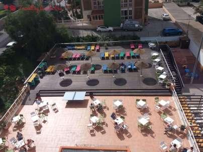 Las vistas de la terraza desde nuestro balcón