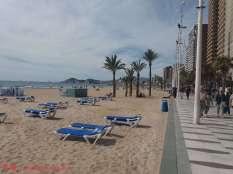 La cuidadísima Playa de Levante