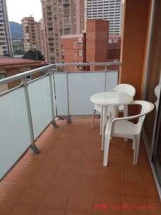 El balcón de nuestra habitación