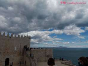 Vistas desde una de las diversas explanadas del castillo
