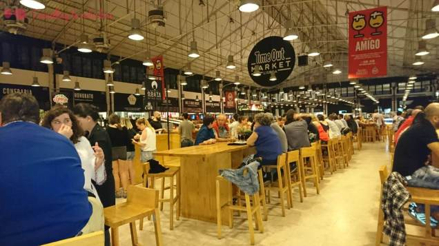 El interior del Time Out Market