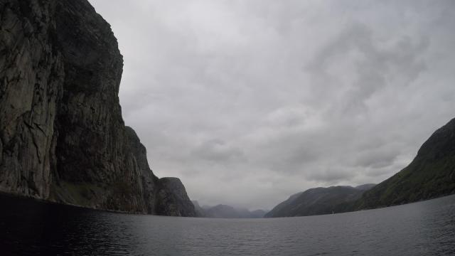 El Lysefjord en toda su inmensidad