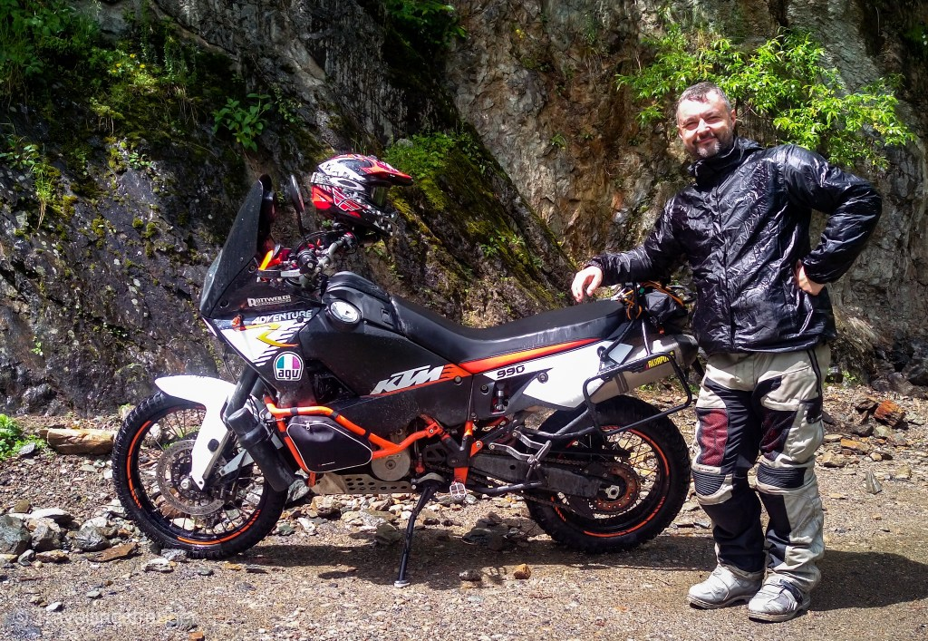Paul and his mighty KTM