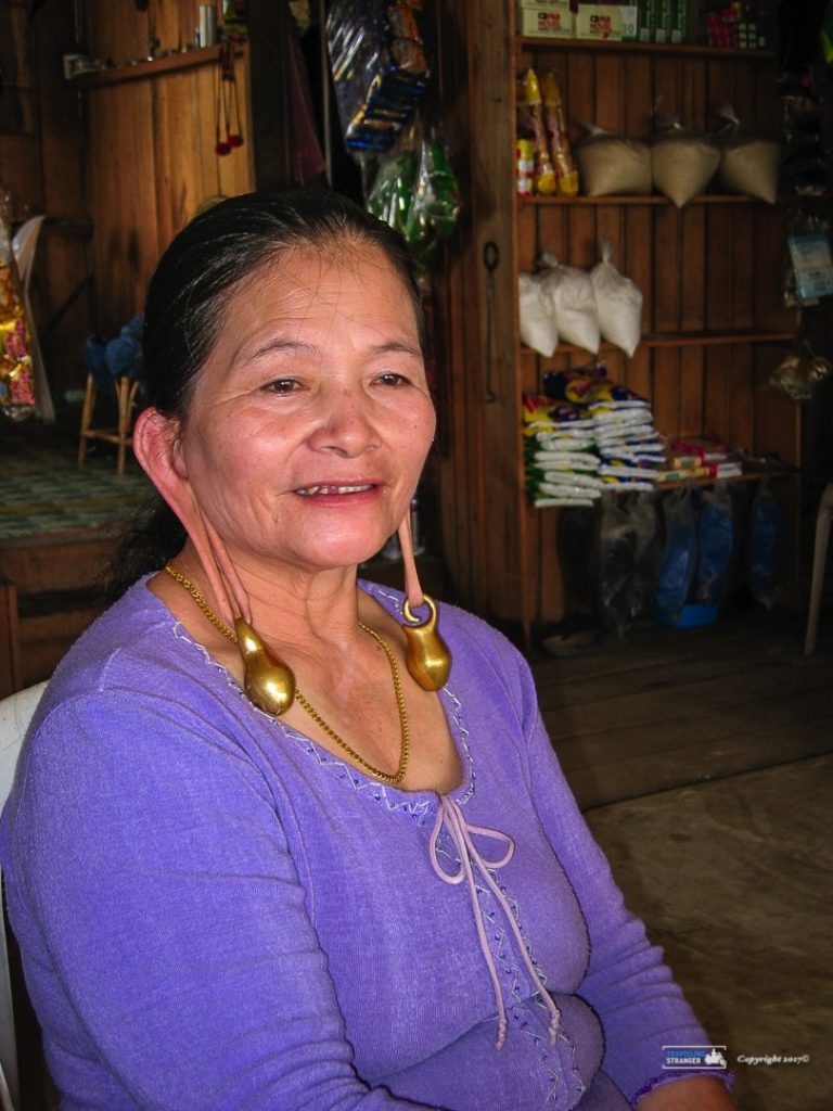 Kelabit Lady with traditional pendants
