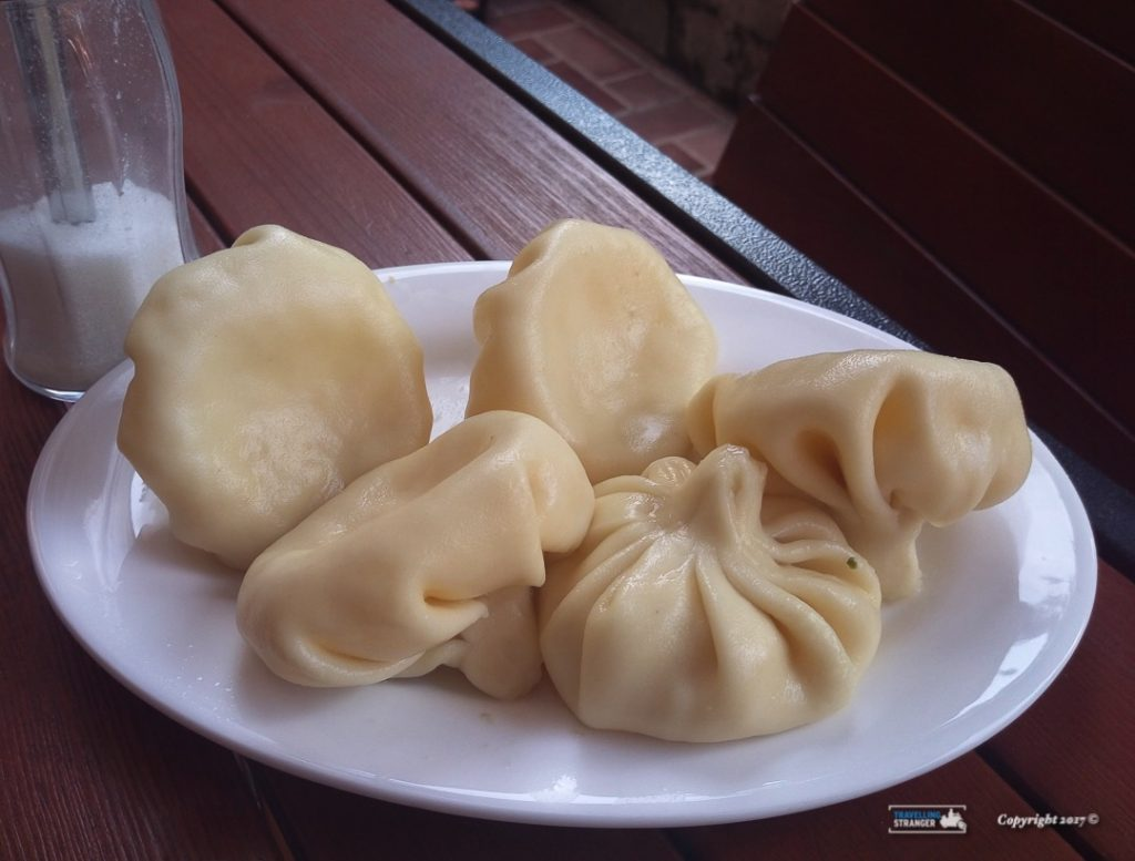 Khinkali, the Gerogian dumplings are not to be missed