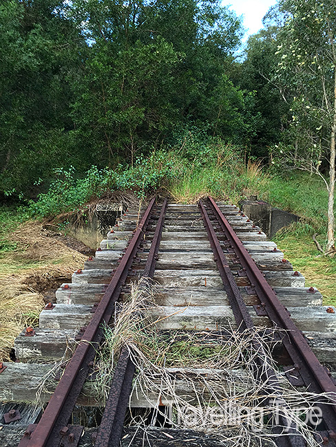 Mishaps on an Abandoned Train Track • Travelling Type