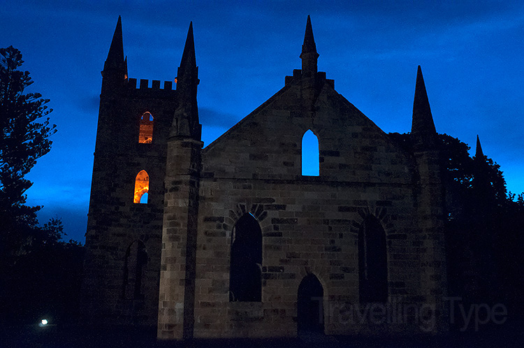 Port Arthur ghost tour