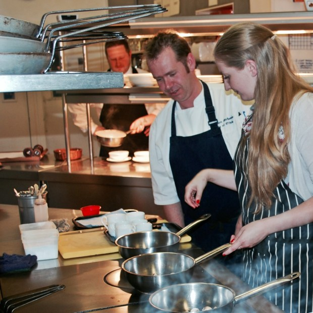 Cooking lessons at the Isle of Eriska Hotel & Spa