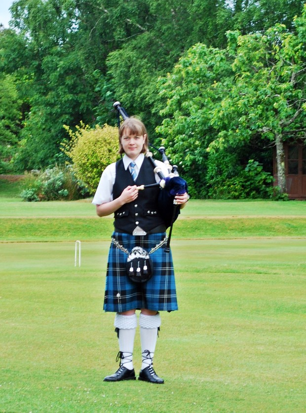 Piper at Isle of Eriska Hotel and Spa Oban Scotland