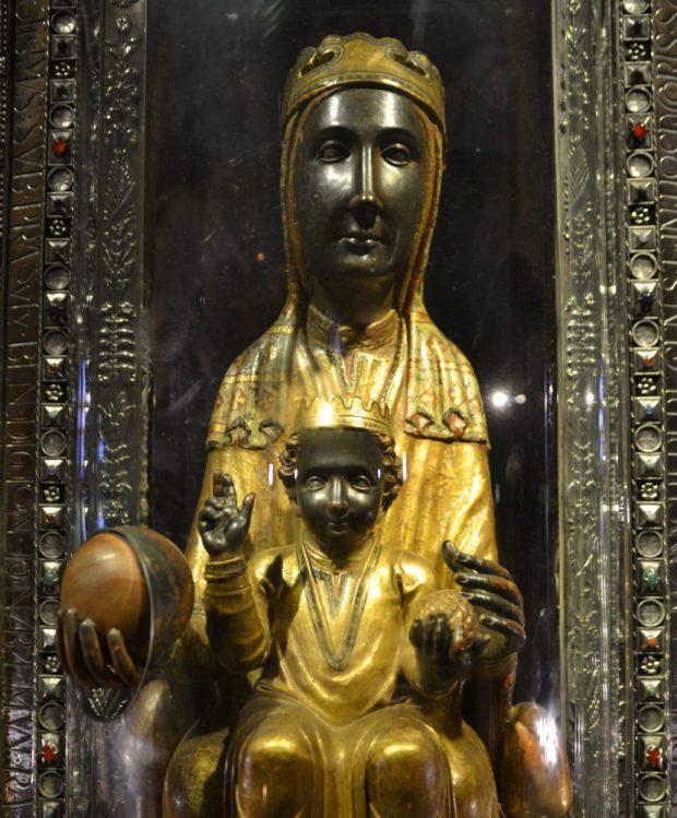 The Virgin of Montserrat Barcelona