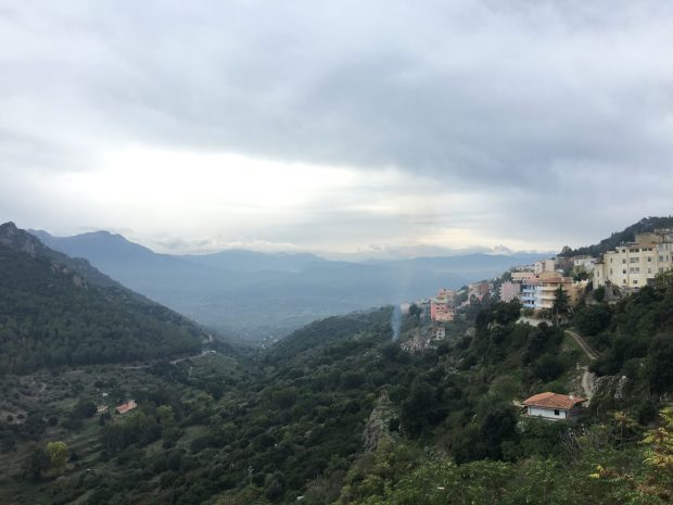 Breathtaking views from Nuoro