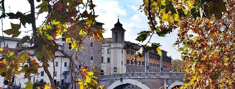 Bridge Autumn Jewish Ghetto of Rome