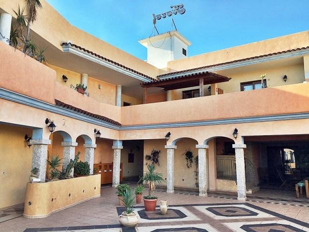 Hotel Bonsai San Teodoro Sardinia Courtyard