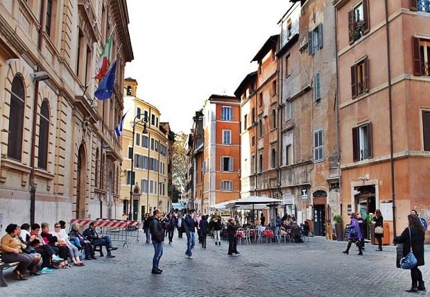 Jewish Ghetto of Rome Street