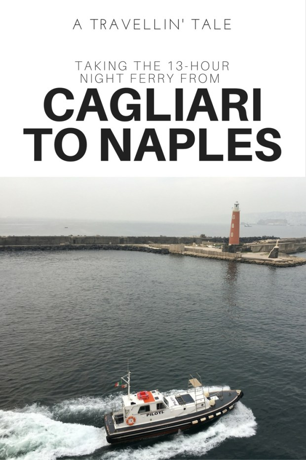 Night Ferry Cagliari to Naples