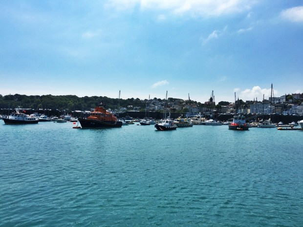 Leaving St Peter Port on the ferry to Herm Island