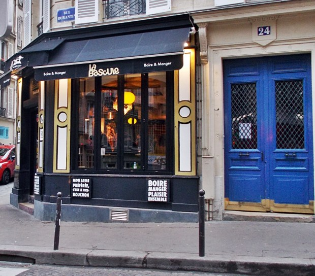 One of Montmartre's best little restaurants - La Bascule