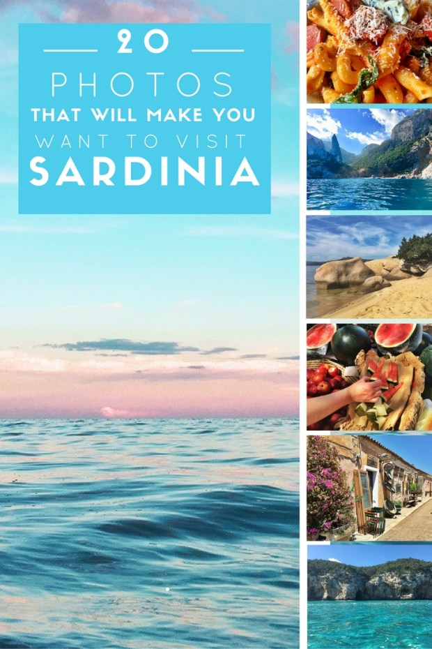 20 photos that will make you want to visit Sardinia