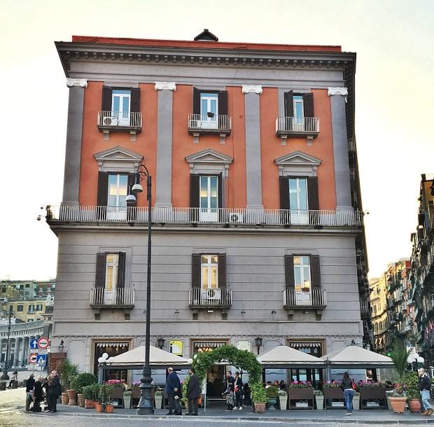 Cafe Gambrinus Naples Italy