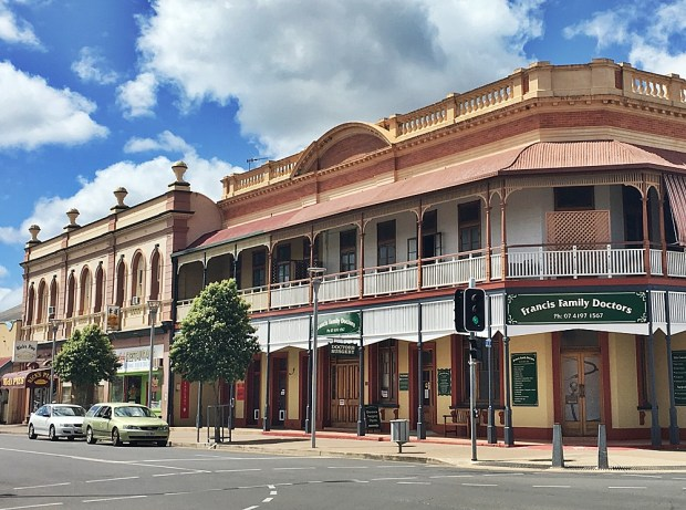 Historic buildings Maryborough Queensland