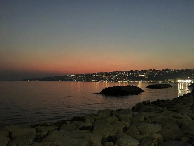 Sunset Bay of Naples