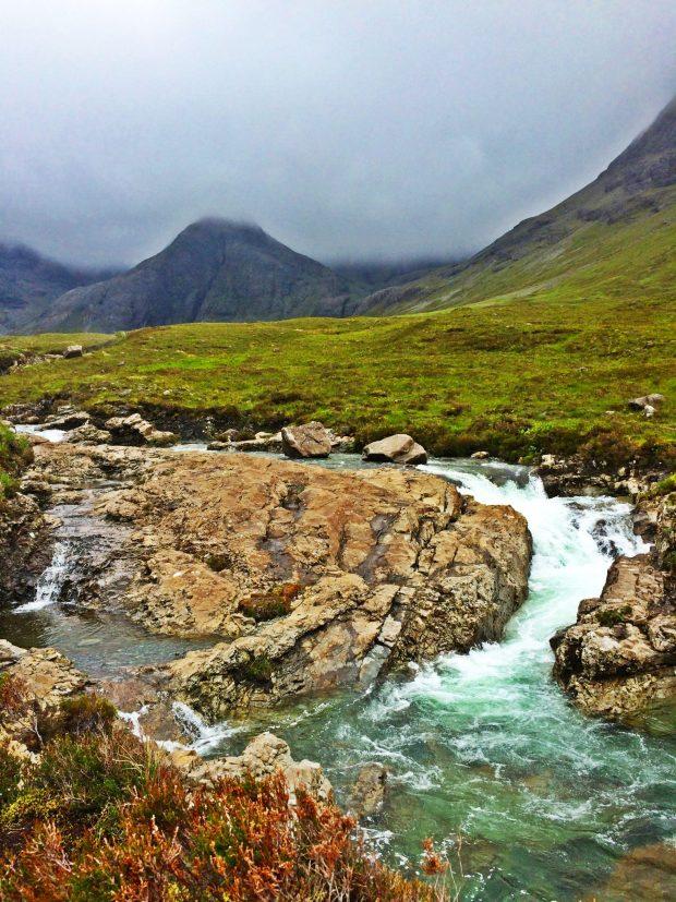 Fairy Pools Isle of Skye Blue Water