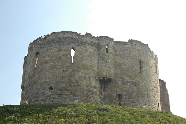 Ruins in York - there's plenty of things to see and find on your weekend away