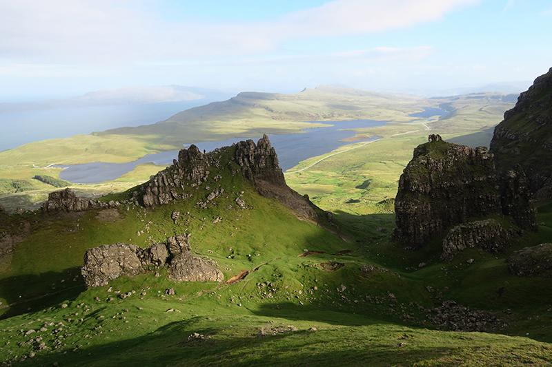 Scottish Highlands - travel Edinburgh to Isle of Skye - landscape