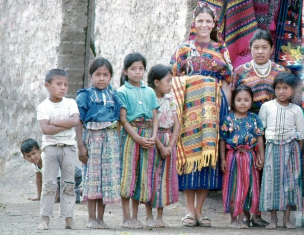 mum in South America