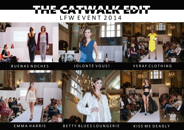 THE CATWALK EDIT LINGERIE AND RTW