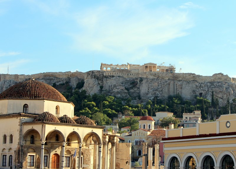 How to spend time in Athens Greece - rooftop views are a must