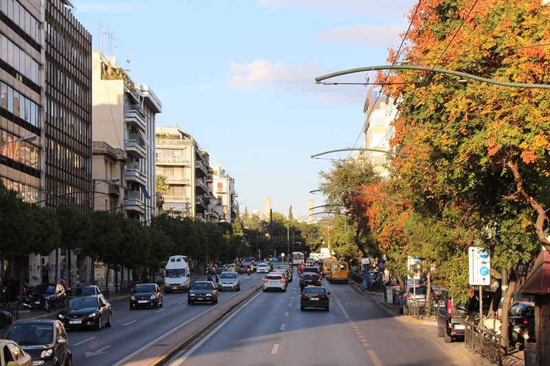 Downtown Athens - how to spend time in Athens Greece