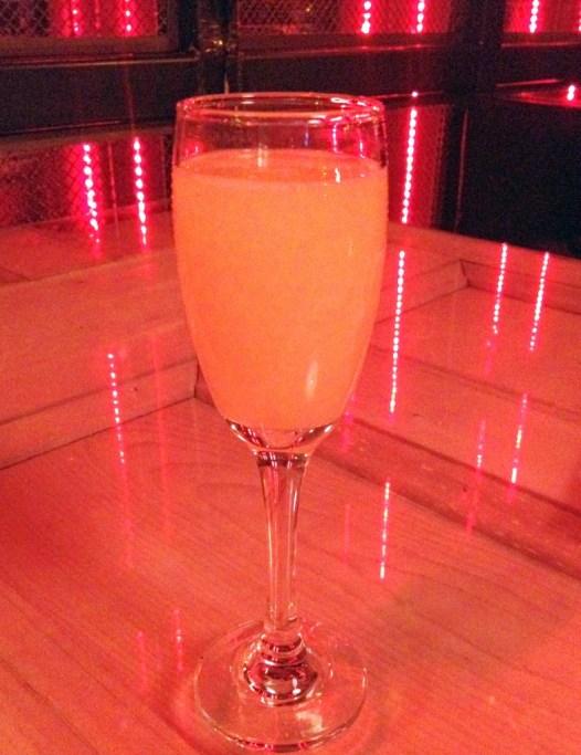 Bar Soho Peach Mimosa