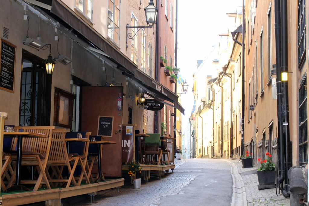 2 days in Stockholm - Gamla Stan alley