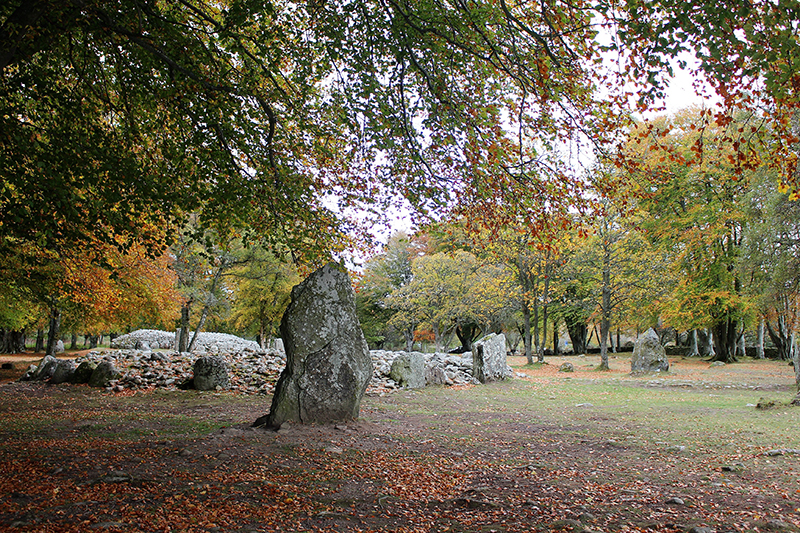 Things to do in Inverness – the ancient ruins of Clava Cairns, inspiration for the books and tv series Outlander
