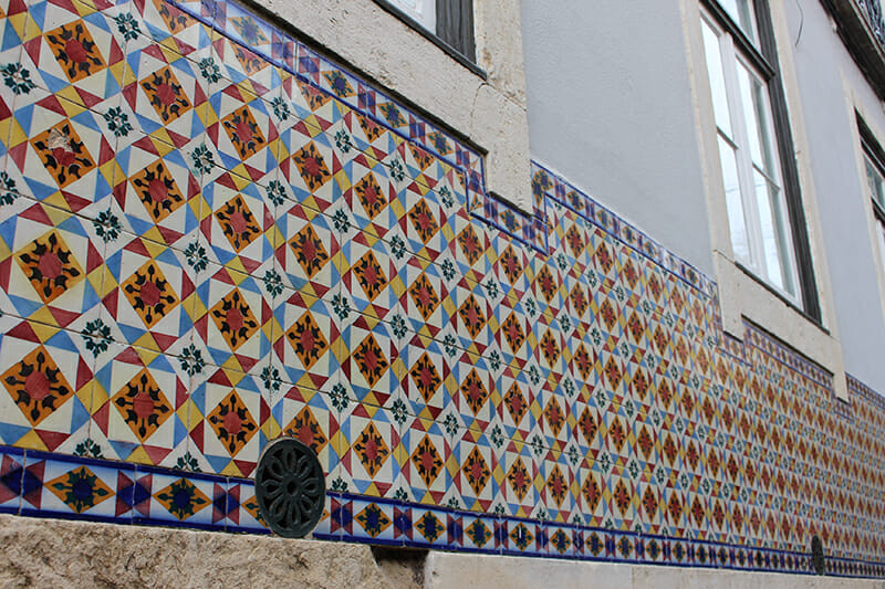 3 days in Lisbon - Azulejos tiles adorn many of the old walls of the city of Lisbon