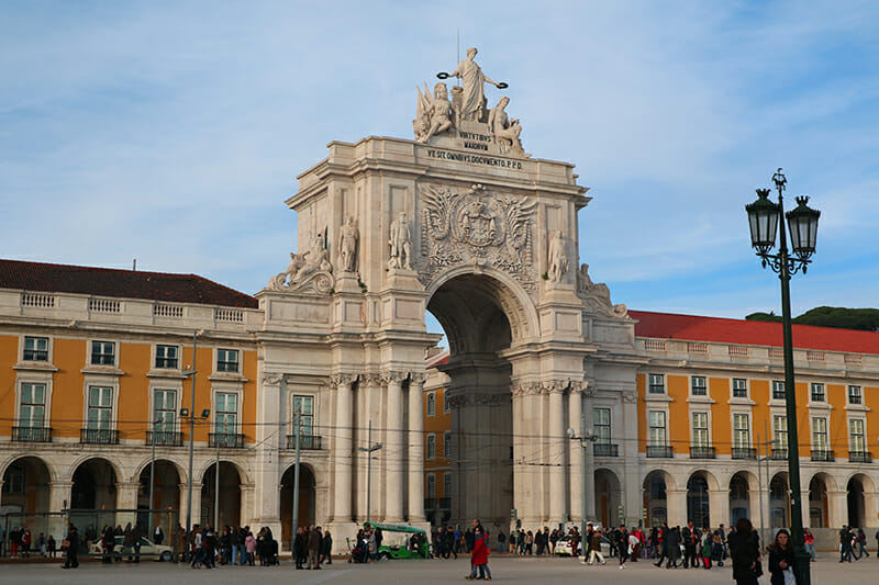 3 days in Lisbon - Praça do Comércio