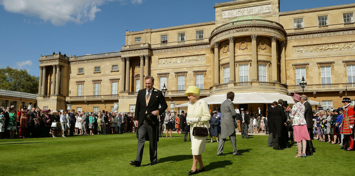 A Royal garden party invitation - hosted by the Queen at Buckingham Palace. Copyright royal.com