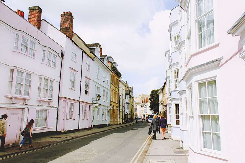 Days out in Oxfordshire England: streets of Oxfordshire