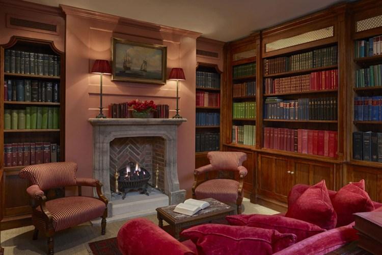 Batty Langleys library