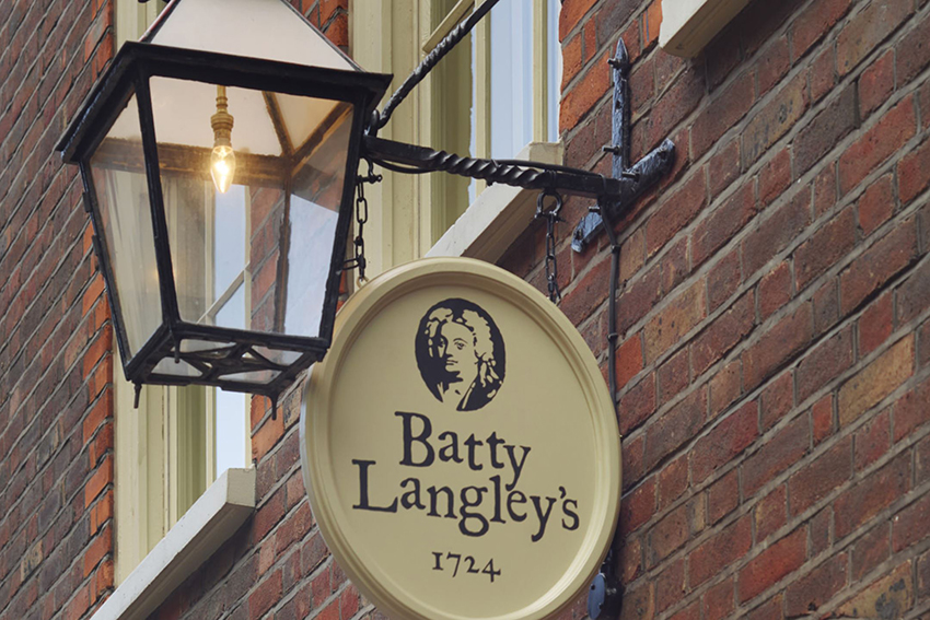 Historic hotels London city Batty Langley's Georgian glamour