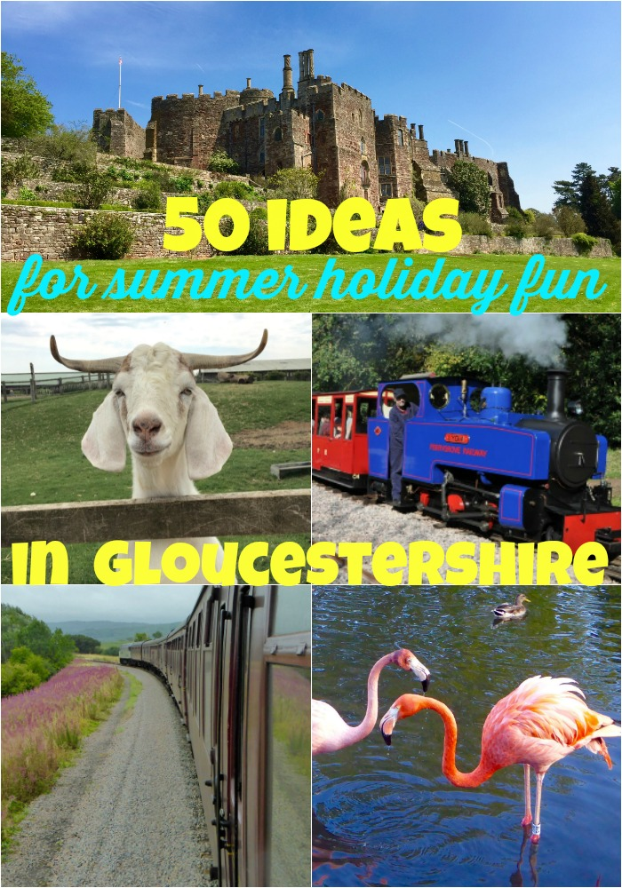 Summer Holiday Events Gloucestershire 2017
