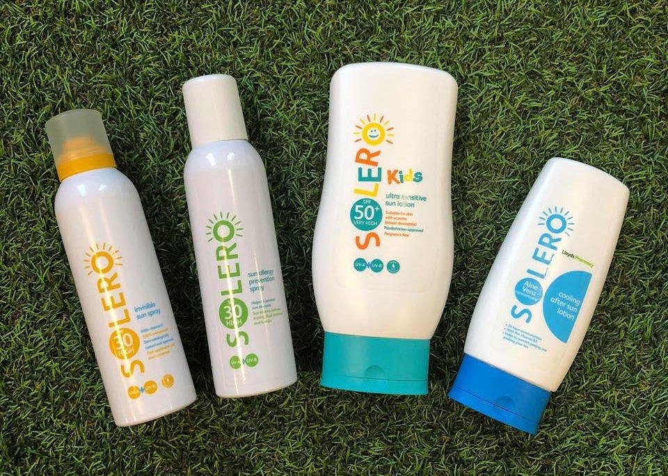 Solero sun care giveaway hamper