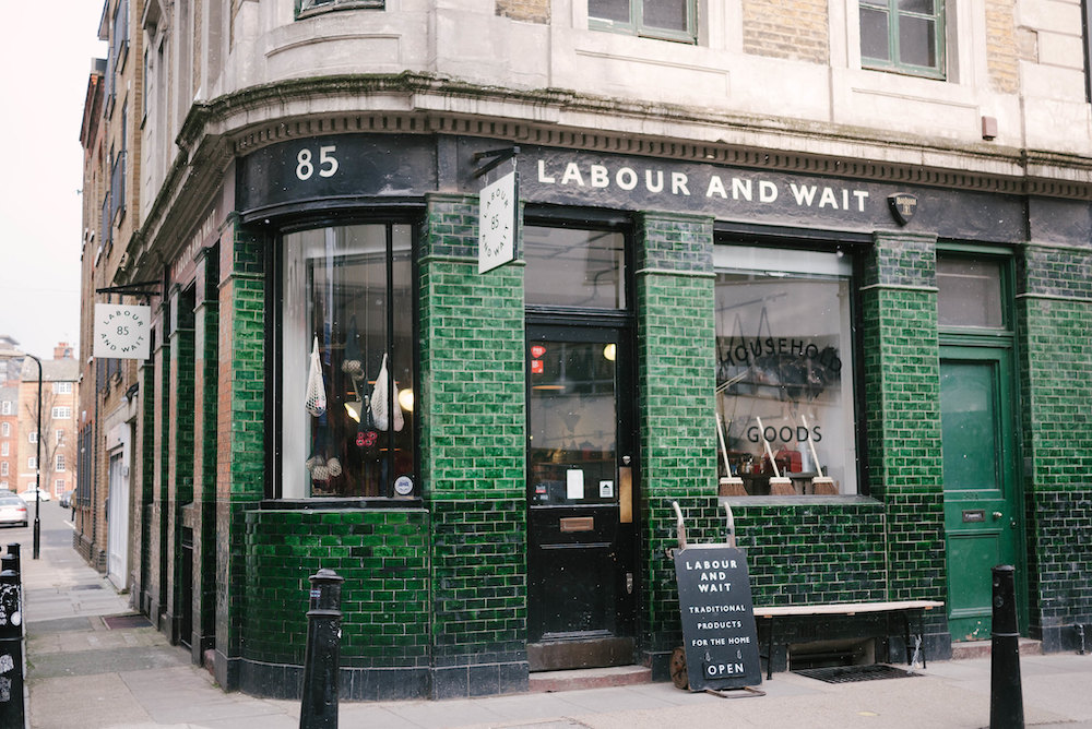 Redchurch Street Shoreditch Londen Verenigd Koninkrijk