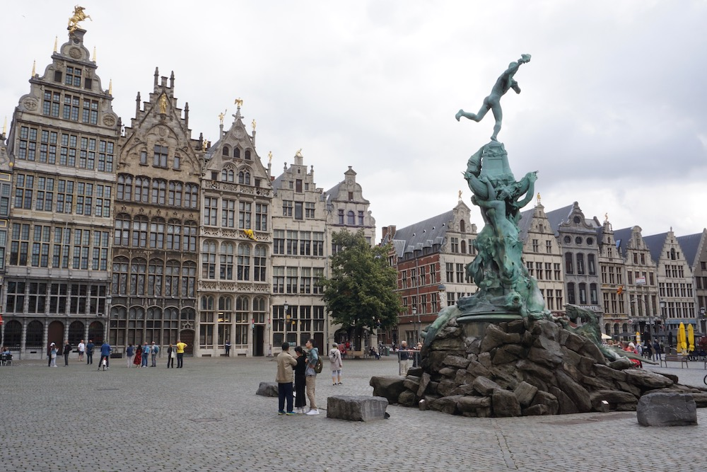 Grote Markt Antwerpen België