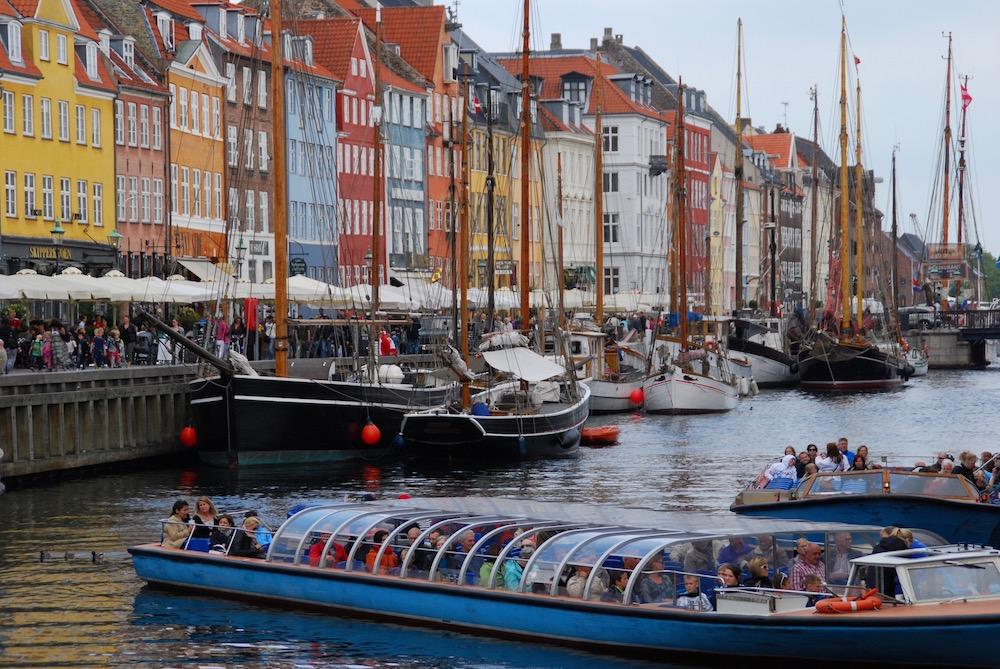Nyhavn Kopenhagen Denemarken