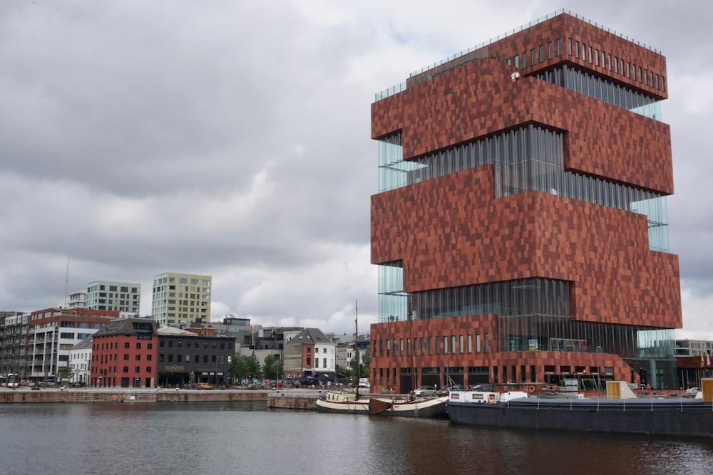 Museum aan de Stroom Eilandje Antwerpen België