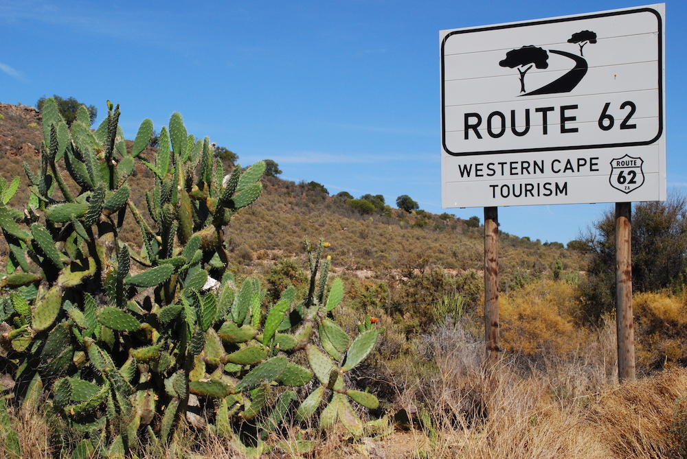 Route roadtrip Zuid-Afrika Route 62