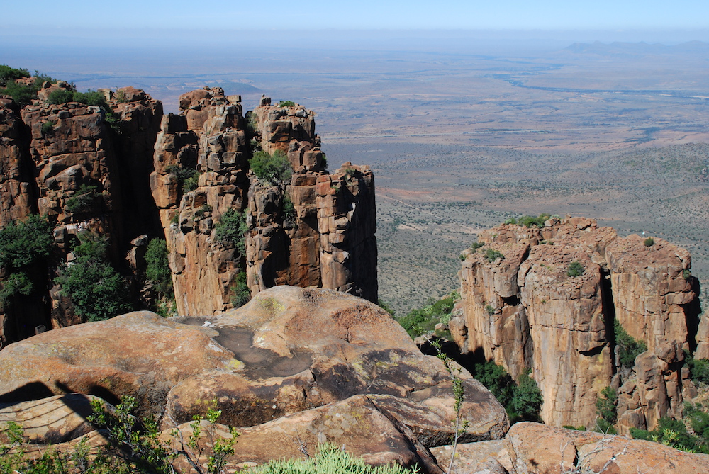 Route roadtrip Zuid-Afrika Valley of Desolation Graaff-Reinet